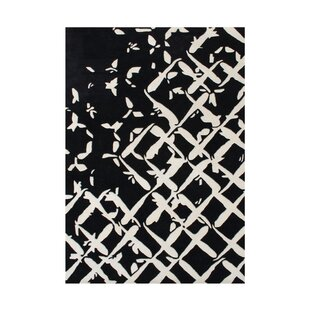 Purchase Wilbur Hand-Tufted Black/White Area Rug By The Conestoga Trading Co.