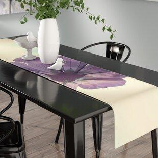 Purple Table Runner Table Linens Youu0027ll Love In 2019 | Wayfair