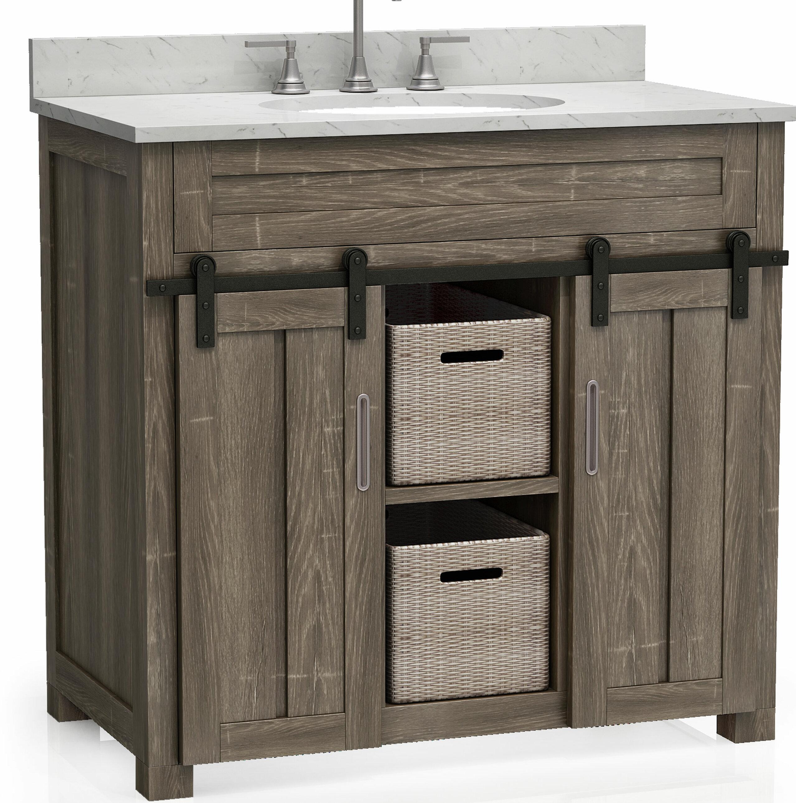Tile Top Dolly 36 Single Bathroom Vanity Base Only Wayfair
