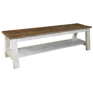 Coralie Breakfast Wood Storage Bench