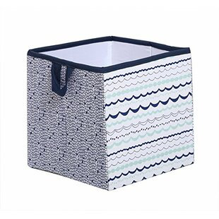 Beau Noah Tribal Fabric Storage Cube And Bin