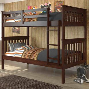 Affordable Price Hollins Twin over Twin Bunk Bed by Harriet Bee Reviews (2019) & Buyer's Guide