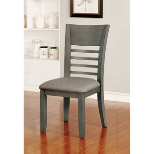 Pulaski Transitional Upholstered Dining Chair (Set of 2) Loon Peak