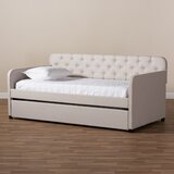 Chehalis Twin Daybed with Trundle by Charlton Home®