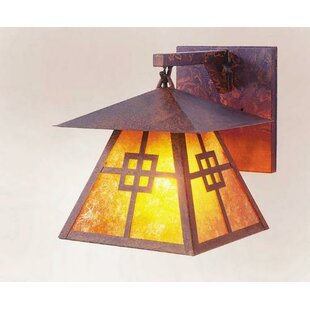 Inexpensive Prairie 1-Light Outdoor Wall Lantern By Steel Partners