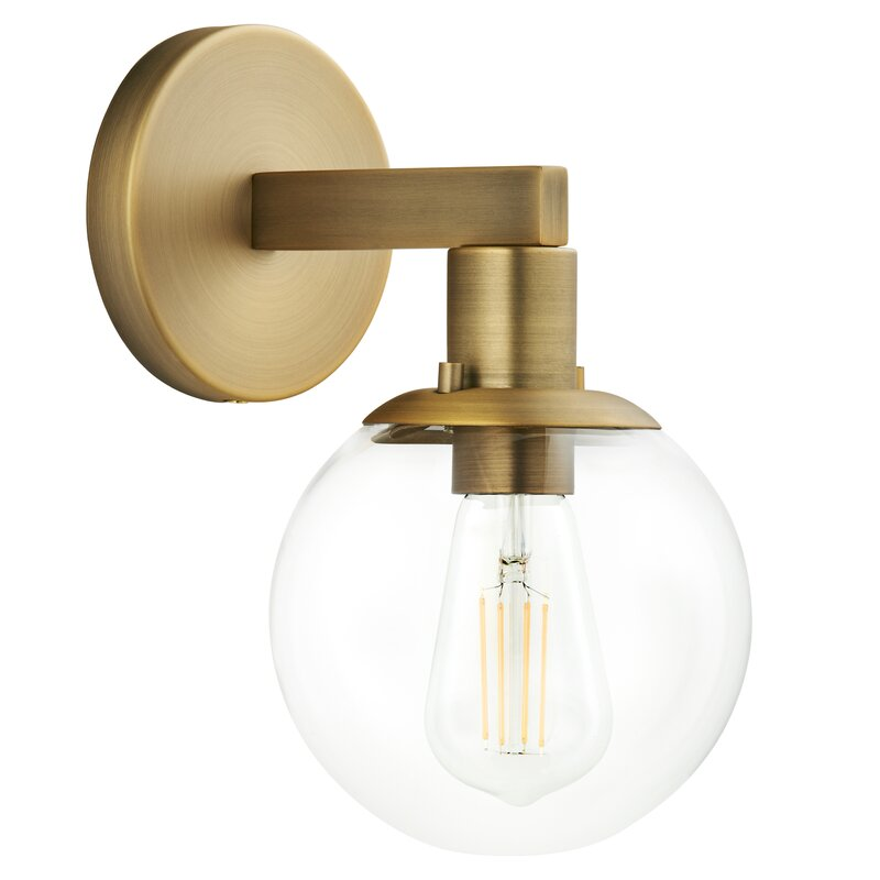 Octavius 1 Light Dimmable Armed Sconce Reviews Allmodern