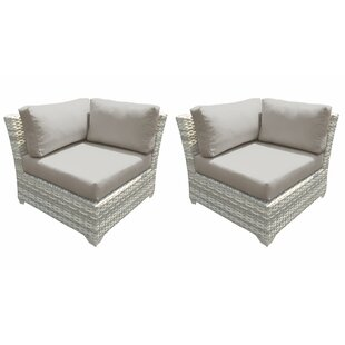 Fairmont Patio Chair with Cushions (Set of 2)
