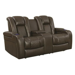 Lorenco Padded Reclining Loveseat by Red Barrel Studio Cheap