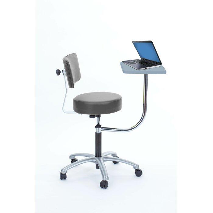 Terrific Strohm Height Adjustable Stool With Desk Cjindustries Chair Design For Home Cjindustriesco