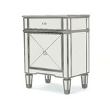 Erica Mirrored 2 Drawer Accent Chest by House of Hampton®