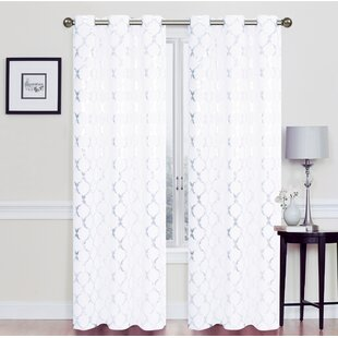 White Sparkle Curtains