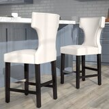 Eccleshall Bar & Counter Stool (Set of 2) by Red Barrel Studio®
