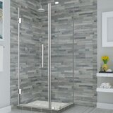 Bromley 30.25 x 72 Rectangle Hinged Shower Enclosure by Aston