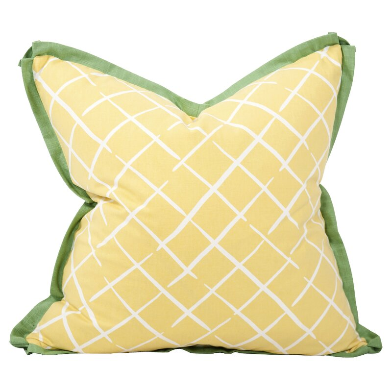 Madcap By Howard Elliott Collection Cove End Down Insert Cotton Throw Pillow Wayfair