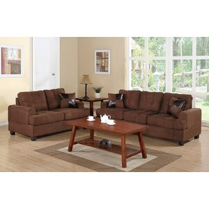 Birchview Sofa and Loveseat Set by Andover Mills