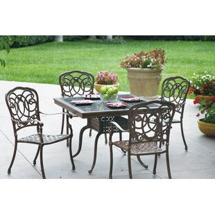 Dolby 5 Piece Dining Set with Cushions