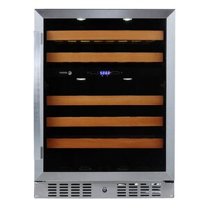 46 Bottle Dual Zone Convertible Wine Cooler by Fagor