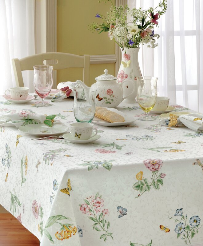 Lenox Butterfly Meadow Tablecloth & Reviews | Wayfair