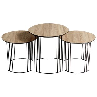 Electric Moon 3 Piece Nesting Tables