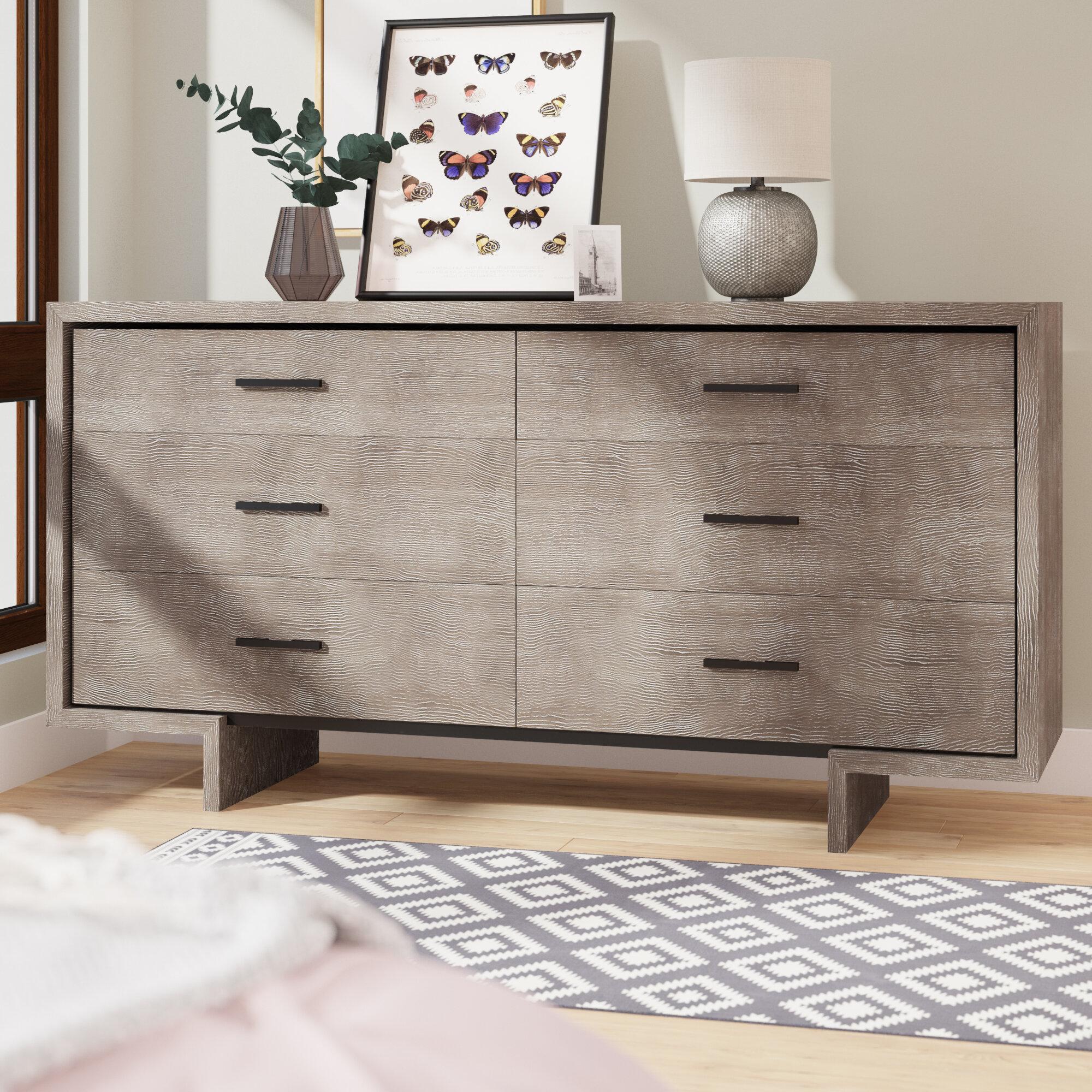 Keiper 6 Drawer Double Dresser