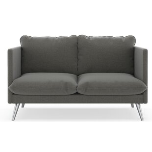 Covertt Oxford Weave Loveseat by Corrigan Studio