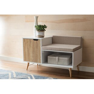 Kinsley Sectional Wood Storage Bench