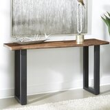 Yost 58 Solid Wood Console Table by Union Rustic