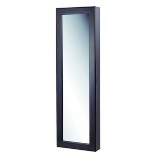 Proteus Wall Mounted Jewelry Armoire with Mirror by Mercury Row