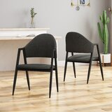 Chamblee Upholstered Dining Chair (Set of 2) by Wrought Studio™