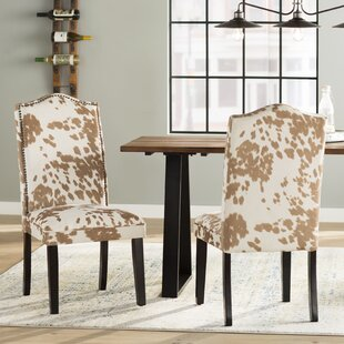 Price Check Healdsburg Nailhead Parsons Chair (Set of 2) By Trent Austin Design