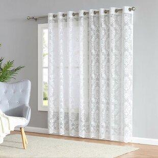 Patio Door Sheer Curtains Wayfair