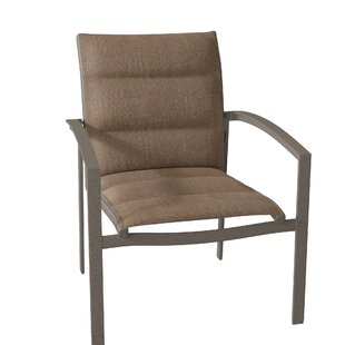 Elance Stacking Patio Dining Chair by Tropitone Discount