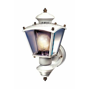 Gladiolus Coach Glass Outdoor Wall Lantern with Motion Sensor