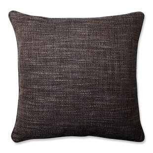 Tweak Gravel Throw Pillow
