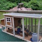 Havel Multi-Level Wooden Chicken Coop
