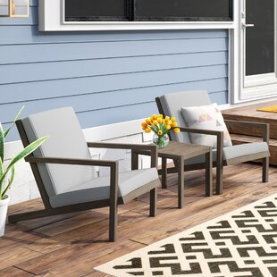 Dehn 3 Piece Seating Group with Cushions