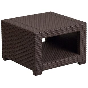 Clifford Faux Rattan Side Table