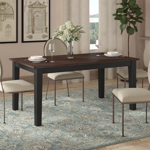 Altamirano Solid Wood Dining Table August Grove