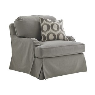Oyster Bay Stowe Slipcover Swivel Armchair By Lexington