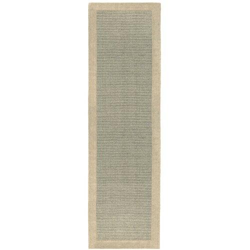 Moorland Hand Tufted Wool Grey Rug benuta Rug size: Runner 6
