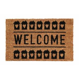 Hoyt Welcome Coir Doormat by August Grove