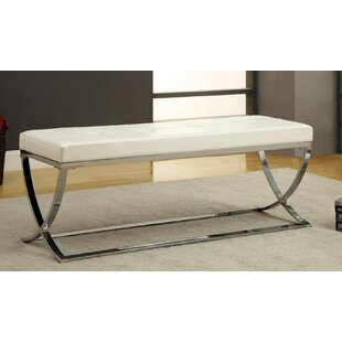 Sheller Leather Bench