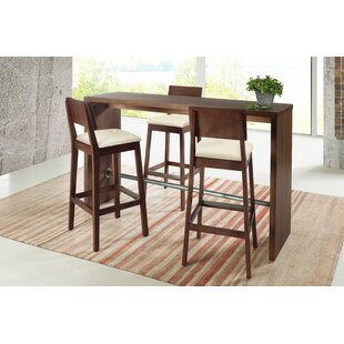 Gourmet 3 Piece Counter Height Pub Table Set