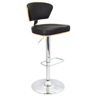 Avienda Modern Adjustable Height Swivel Bar Stool