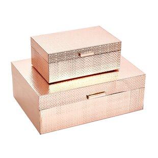 Acheson 2 Piece Decorative Box Set