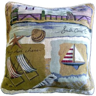Summer By the Seaside Pillow Case (Set of 2)
