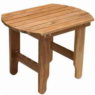 Online Purchase Teak Adirondack Side Table Purchase Online