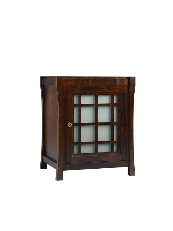 Shoji 25 Single Bathroom Vanity Cabinet Base