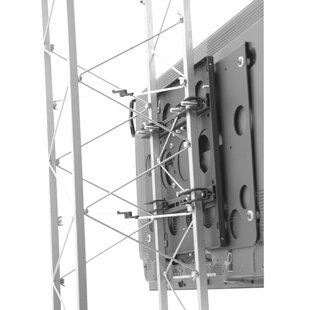 Large Fixed Truss Pole Mount for 42