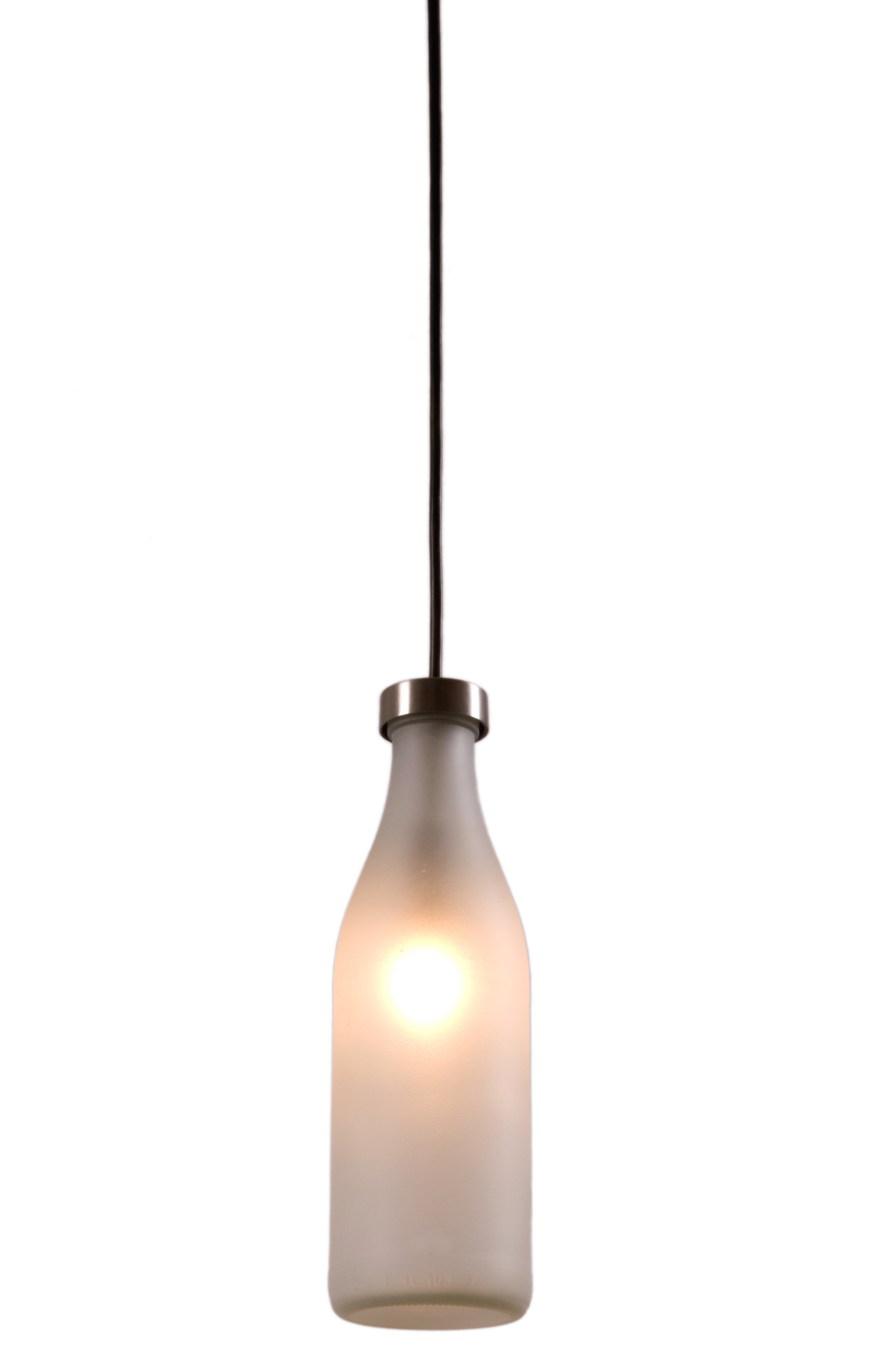 Droog single milk bottle lamp by tejo remy for droog wayfair aloadofball Choice Image